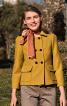 Жакет двобортний з відкладним коміром - фото 1