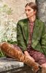 Жакет двобортний у чоловічому стилі - фото 1