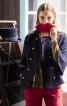 Жакет двобортний з рукавами-розтрубами - фото 1