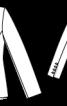 Двобортний жакет у стилі фрака - фото 3