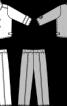 Піджак двобортний і брюки - фото 3