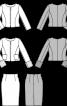 Жакет приталеного силуету і спідниця-олівець - фото 3