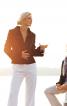 Жакет приталеного крою з шалевим коміром - фото 1