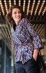 Жакет-кімоно з кишенями в бокових швах - фото 1