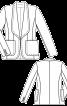 Жакет класичного крою з шалевим коміром - фото 3