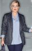Жакет класичного крою з шалевим коміром - фото 1