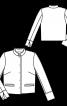 Жакет прямого крою з прорізними кишенями - фото 3