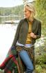 Жакет прямого крою з прорізними кишенями - фото 1
