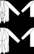 Жакет із хвилястими пілочками із шерстяного сукна - фото 3