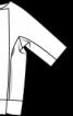 Жакет без коміра і з рукавами кімоно - фото 3