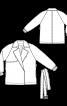 Куртка-тренч з рукавами реглан - фото 3