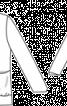 Жакет прямого крою з драпірованою планкою - фото 3