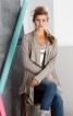 Жакет прямого крою із суцільнокроєним коміром - фото 1