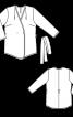 Жакет-кімоно без підкладки - фото 3