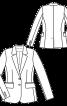 Жакет-блейзер класичного крою - фото 3