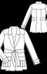 Жакет блейзер в стилі сафарі - фото 3