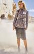 Жакет в стилі сафарі з коміром-стійкою - фото 1