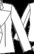 Жакет приталеного крою з поясом - фото 3
