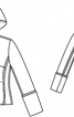 Куртка з лодену з розкладним капюшоном - фото 3