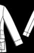 Жакет з кишенями-портфелями в стилі сафарі - фото 3