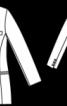 Жакет двобортний приталеного крою - фото 3