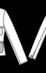 Короткий блейзер з комбінацією тканин - фото 3