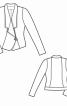 Короткий блейзер з декоративною пряжкою - фото 3