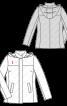 Куртка зі знімним хутряним коміром - фото 3