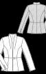 Жакет відрізний приталеного силуету - фото 3