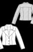 Жакет букле короткий приталеного силуету - фото 3