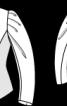 Жакет приталеного крою з пишними рукавами - фото 3
