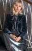 Жакет оксамитовий приталеного крою - фото 1
