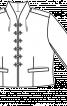 Жакет короткий приталеного крою - фото 2