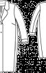 Пальто мереживне О-силуету - фото 3