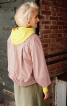 Жакет силуету балон з фігурними рукавами - фото 4