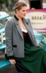 Жакет-янкер із складкою на спинці - фото 1
