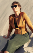 Жакет з рукавами реглан 3/4 - фото 1