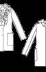 Жакет мохеровий з пишними рюшами - фото 3