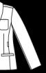 Жакет приталеного крою із шалевим коміром - фото 3