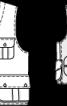 Жилет із великими накладними кишенями-портфелями - фото 3