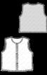 Жилет хутряний прямого крою - фото 3