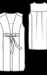 Жилет довгий з рельєфними швами - фото 3