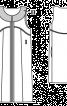 Жилет довгий прямого крою без застібки - фото 3