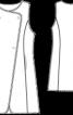 Жилет довгий зі штучного хутра - фото 3