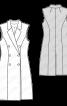 Жилет довгий приталеного силуету - фото 3