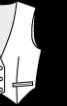 Жилет класичний з оксамиту - фото 3