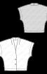 Жилет просторий з приспущеною лінією плечей - фото 3