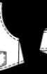 Жилет короткий широкого крою - фото 3