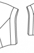 Жилет шерстяний широкого крою - фото 3