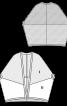 Кардиган оригінального крою - фото 3